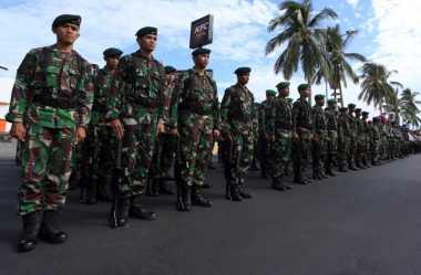 17 SSK TNI Sokong 11.000 Polisi Kawal Demo Buruh