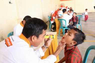 Ribuan Anak di Grobogan Dapat Pemeriksaan Kesehatan Gratis