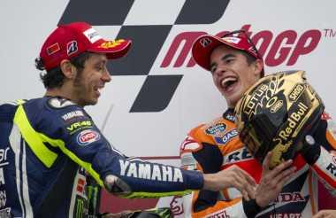 Rossi Belum Mencoret Rider Spanyol dari Persaingan
