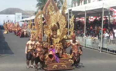 Jember Fashion Carnaval Sukses Gaet Wisatawan