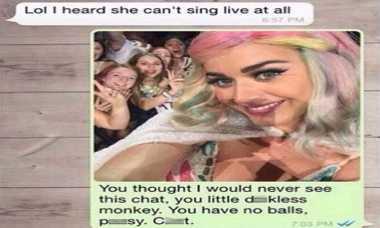 Katy Perry Marah Disebut Tak Bisa Nyanyi