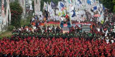 Demo Tunjukkan Nuansa Batin Buruh yang Bergejolak