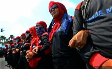 Tuntutan Tidak Direspon, Buruh Ancam Demo Lebih Besar