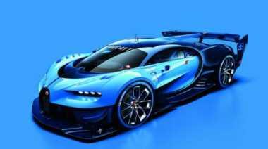 Mobil Video Game Diperkenalkan Bugatti