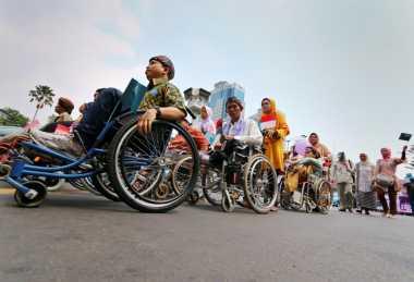 Temukan Dugaan Korupsi Bantuan Disabilitas, Ormas Geruduk Kejari Bekasi