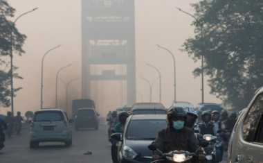 Akibat Kabut Asap, Ribuan Warga Pekanbaru Terserang ISPA