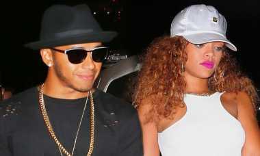 Pengakuan Lewis Hamilton Soal Rihanna