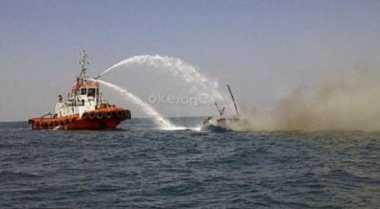 Kapal Terbakar, Kerugian Ditaksir Rp4 Miliar
