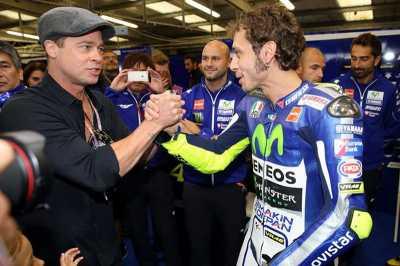 Aktor Hollywood Mengidolai Rossi dan Lorenzo