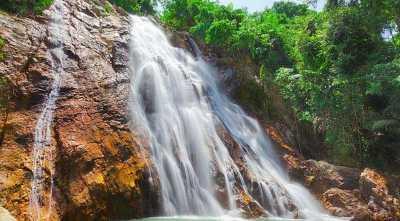 Air Terjun Berbahaya di Thailand