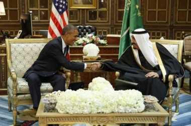 Raja Saudi Temui Obama Minta Dukungan Melawan Iran