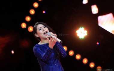 Clarisa 'X Factor' Jadi Lady Rocker lewat Figther
