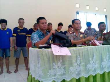 Tujuh Penjahat Jalanan Pasrah Dibekuk Polisi
