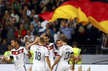 Sengit, Jerman Sementara Ungguli Polandia