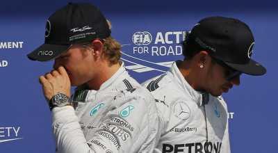Rosberg Pantang Kibarkan Bendera Putih