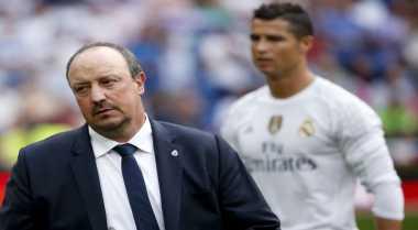 Benitez Kecewa Madrid Gagal Menang