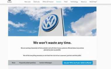 VW Luncurkan Website Periksa Mobil Terkena Dampak Emisi