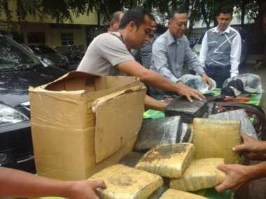 Polisi Sita Kopi & Dodol Berisikan Ganja