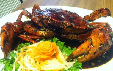 Kepiting Lada Hitamnya Bandar Djakarta Pedas Menggigit