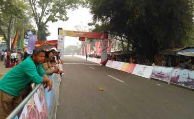 Pesona Ngalau Indah, Tempat Finish TDS Etape Lima