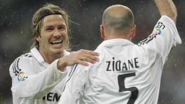 Zidane yang Terbaik di Mata Beckham