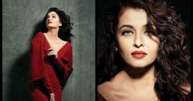 Aishwarya Rai Tampil Seksi di Majalah