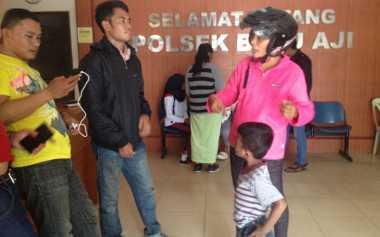 Kena Jambret, Ibu Rumah Tangga Nangis di Kantor Polisi