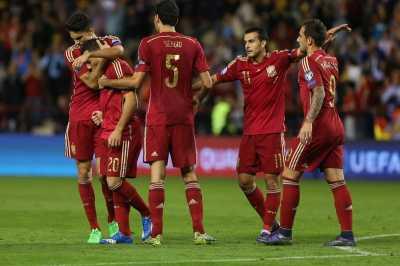 Selangkah Lagi Spanyol Lolos ke Euro 2016