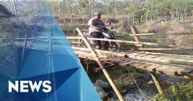 Perindo Bangun Jembatan di Gunungrego