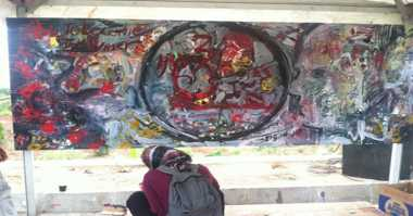 Pelukis dari 24 Negara Beraksi di Yogyakarta