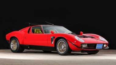 Lamborghini Miura Jota Spesifikasi Balap Buatan 1968 Dijual Online