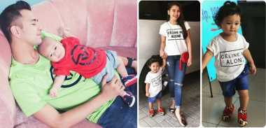 Gaya Menggemaskan Anak Selebriti Indonesia