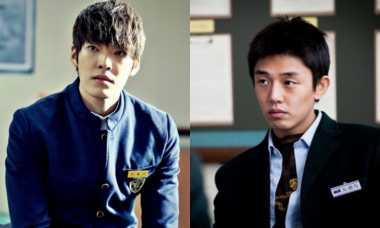 Yoo Ah In Pemberontak, Kim Woo Bin Murid Teladan