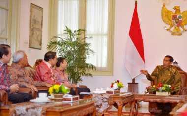 Bicara UU KPK, Pimpinan DPR Bertemu Jokowi di Istana Negara