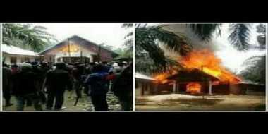 PGI Kecam Pembakaran Rumah Ibadah di Aceh Singkil