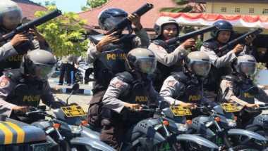 Polisi Sekat Perbatasan Sumut & Aceh