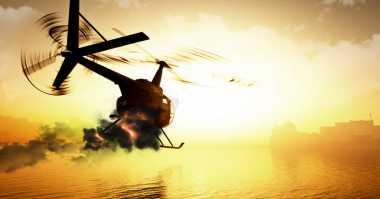Korban Helikopter Sebut Empat Rekannya Masih di Air