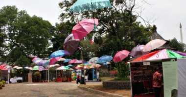 Cantiknya Warna-Warni Puluhan Payung Museum Indonesia