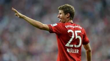 Muller Kini Sejajar dengan Legenda Bayern