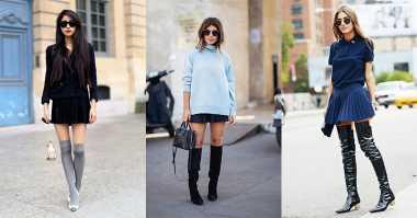 Tips Pakai Rok Mini Tanpa Terlihat Seronok