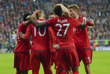 Raihan Gol Bayern Masih Kalah ketimbang United dan Madrid