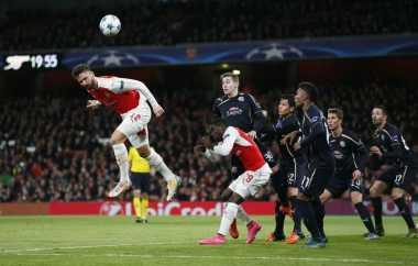 Arsenal Punya Rekor Buruk jika Main di Markas Olympiakos