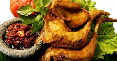 Ayam Goreng Ungkep Lezat Lauk Sarapan
