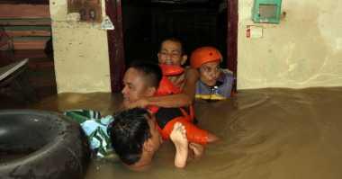 Hujan Deras Semalaman, Seputaran Kampus USU Banjir
