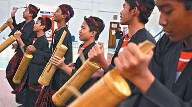 Suasana Beda di Festival Bambu Nusantara
