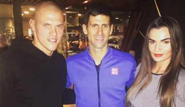 Djokovic Bertemu Bek Liverpool di London