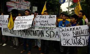 Mahasiswa Demo Sambut Kedatangan Wapres JK di Malang