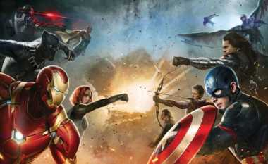 Trailer Captain America: Civil War Tembus Tujuh Juta Penonton
