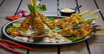 Resep Sate Seafood Platter