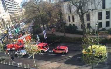 Masjid Agung Brussels Diterpa Ancaman Anthrax